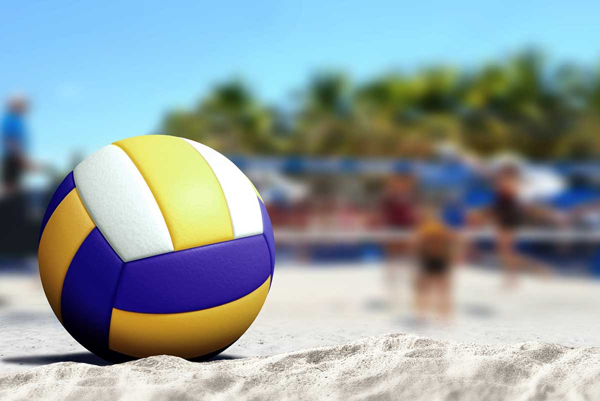 Sand-volleyball